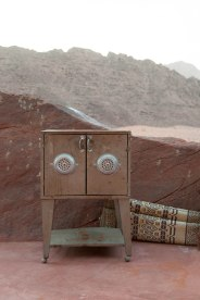 One afternoon in Wadi Rum Caravan Camp.